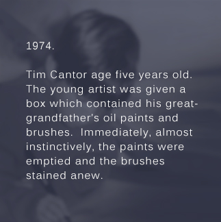 Tim Cantor age five